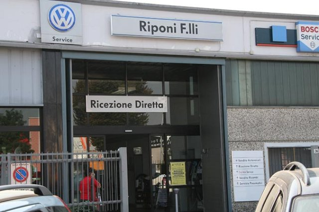 5/10/2011 visita all'officina Riponi